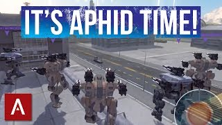 getlinkyoutube.com-Clan VØX Aphids Gameplay [Using Patton Aphids] - War Robots