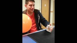 Cards in a Balloon