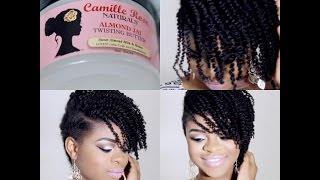 getlinkyoutube.com-PRODUCT REVIEW!!! Camille Rose Naturals- Almond Jai Twisting Butter