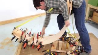 Making a curvy board