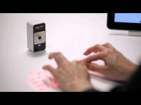 Celluon Magic Cube - World's only virtual projection keyboard and multi-touch mouse