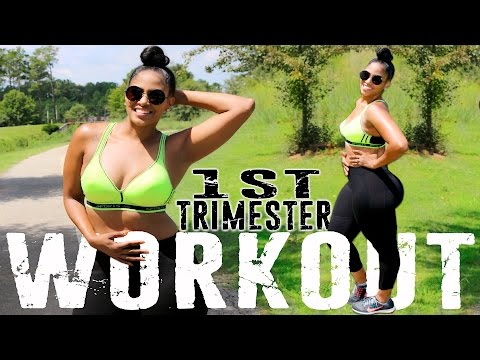 PREGNANCY WORKOUTS 1st TRIMESTER | LOW INTENSE EXERCISES FOR WOMEN  | CHINACANDYCOUTURE FITNESS