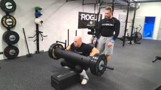 Strongman tréning Klánovice - Jirka Tkadlčík... 17.02.2016