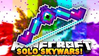 """getlinkyoutube.com-Minecraft SOLO SKY WARS """"INSANE SNIPER SHOTS!"""" #8   w/ PrestonPlayz"""