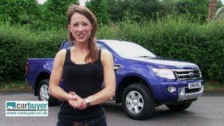 getlinkyoutube.com-Ford Ranger pick-up review - CarBuyer