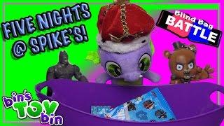 getlinkyoutube.com-Blind Bag Battle #24 - Five Nights at Spike's! | Bin's Toy Bin