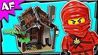 getlinkyoutube.com-Lego Ninjago BLACKSMITH SHOP 2508 Stop Motion Set Review