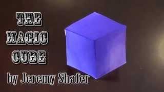 getlinkyoutube.com-Fold an Origami Magic Cube! Designed by Jeremy Shafer