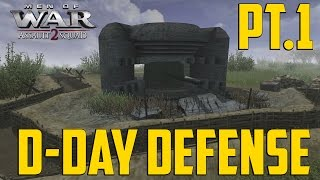 getlinkyoutube.com-Men of War - D-Day Defense Pt 1