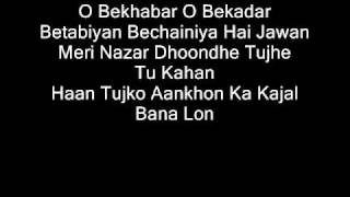getlinkyoutube.com-O Bekhabar Lyrics