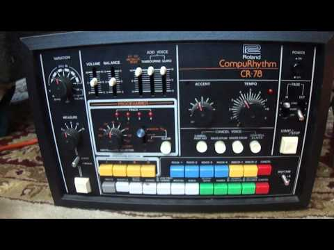 Roland CompuRhythm CR-78