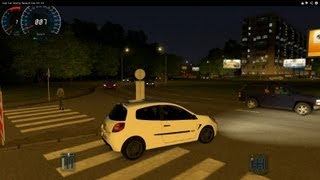 getlinkyoutube.com-City Car Driving Renault Clio RS HD