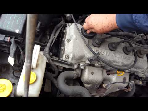 Контрактный двигатель Nissan (Ниссан) 1.6 GA16DE | Где купить? | Тест мотора
