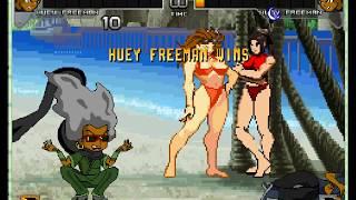 M.U.G.E.N. Special: Huey Freeman Survival Run