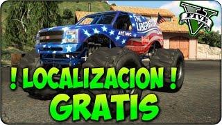 getlinkyoutube.com-GTA 5 - Monster Truck Liberator Ubicación en GTA 5 ( Localizacion GTA 5 Vehiculos Secretos )