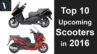 getlinkyoutube.com-Top 10 Upcoming Scooters in 2016