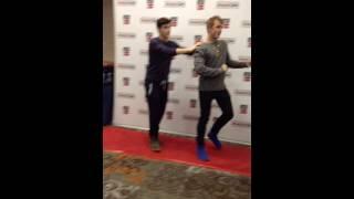 getlinkyoutube.com-Caught Jake Paul dancing at MagCon Texas in San Antonio,Tx 1-17-15