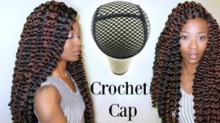getlinkyoutube.com-The Best Crochet Braid Wig Cap: Freetress Cuban Twist Natural Jumbo Twist 2x
