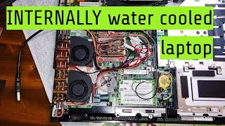 Internally Water Cooled Laptop