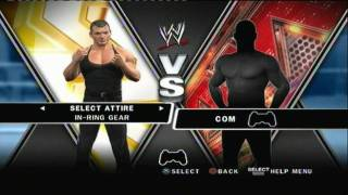 getlinkyoutube.com-WWE Smackdown Vs Raw 2010 Unlockable Superstars + Diva's