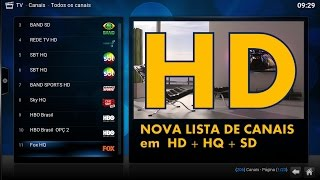 getlinkyoutube.com-TV AO VIVO HD - IPTV HD - Nova lista de canais Brasileiros em HD Para o KODI , PC e Android.