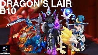 getlinkyoutube.com-Summoners War : Dragons B10 (Farmable Team)