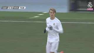 getlinkyoutube.com-Martin Ødegaard vs Real Unión Home (06/02/2016)