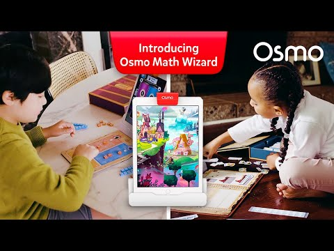 Osmo Maths Wizard and the Magical Workshop Game for iPad - Ages 6-8