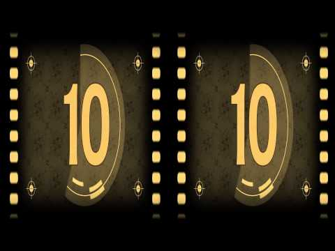 Universal 3D Film Leader Movie Countdown - Free Download - Old Film Style