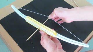 getlinkyoutube.com-как сделать очень сильный лук с использованием бумаги