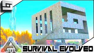 getlinkyoutube.com-ARK: Survival Evolved - METAL BASE MONTAGE! S2E95 ( Gameplay )
