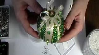 """getlinkyoutube.com-""""Four Leaf Clover"""" Ornament"""