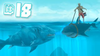 getlinkyoutube.com-Ice Shark!! || Hungry Shark Evolution - Ep 18