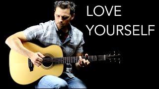 getlinkyoutube.com-Love Yourself - Solo Fingerstyle Guitar Version