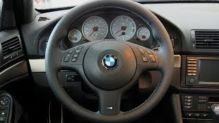 getlinkyoutube.com-2000 BMW E39 M5 Steering Wheel Facelift