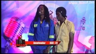 Contestants forgets who starts first | DREAMS Reality Music TV SHOW  - JAH MAN  Ama fouders