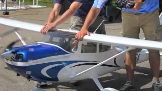 getlinkyoutube.com-Tmmy Scale Composite 35% Cessna 182