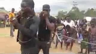 Prestation des KOOM BB à la fête du riz à ABOHIRI 2016