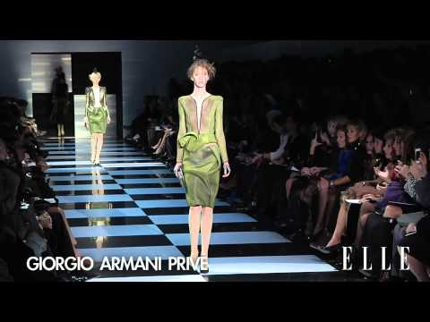 Armani Prive Haute Couture 2012 Spring/Summer