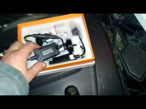 Установка светодиодов в KIA CERATO. Led Kia Cerato. H4 led Kia Cerato