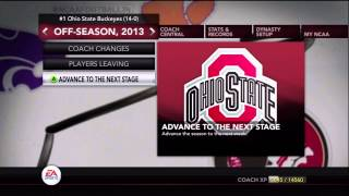 getlinkyoutube.com-Exporting Draft Classes In NCAA Football 14