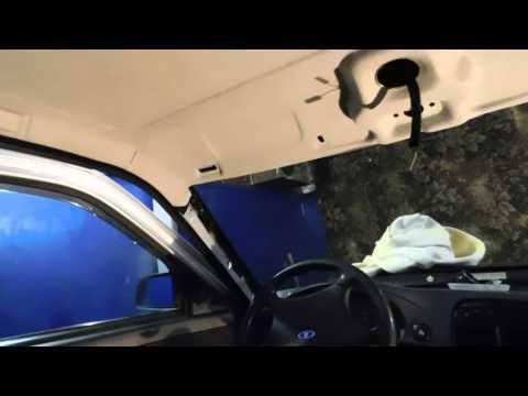 Как снять обшивку потолка на Ваз 2110-2112