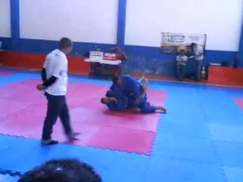Campeonato de Jiu-Jitsu em Indaiatuba-SP  Renato 1ª Luta