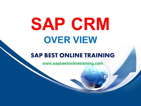 SAP CRM ONLINE TRAINING | SAP CRM PROJECT SUPPORT | SAP CRM LIVE DMEO | CRM TRAINING VIDEO