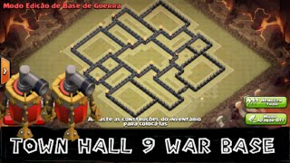 getlinkyoutube.com-MELHOR LAYOUT CV9(TH9)WAR BASE 2 AIR SWEEPER UPDATE