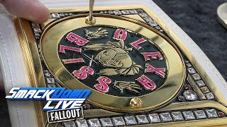getlinkyoutube.com-Alexa Bliss gets her plates put back on the Women's Title: SmackDown LIVE Fallout, Feb. 22, 2017