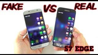 getlinkyoutube.com-FAKE vs REAL Samsung Galaxy S7 Edge - Buyers BEWARE! 1:1 Clone