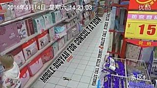 getlinkyoutube.com-Women gets fully possessed by Jinn in a supermarket