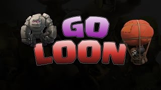 getlinkyoutube.com-Clash of Clans | New GoLoon Attack Strategy!