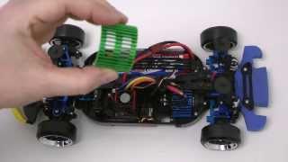 getlinkyoutube.com-Tamiya TT-01 E Lancer Evolution für das RC-Driften getunt. Tuning